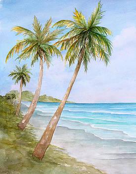 Swaying Palms by Rosie Brown