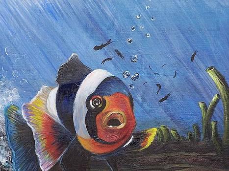 Swimming along by Anna Gitchel