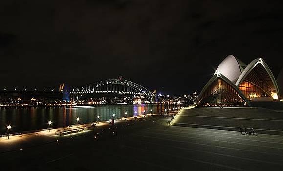 Sydney by Night by KC Moffatt