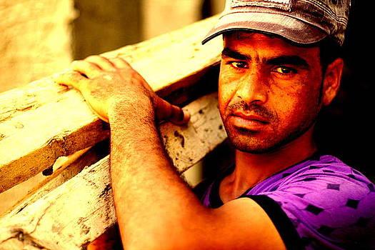 Syrian worker  by Dareen  Hasan