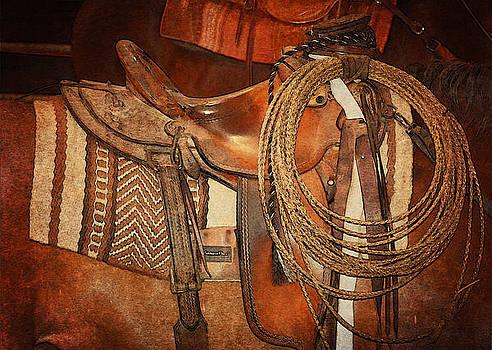 Tan Western Gear by Susie Fisher