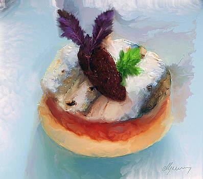 Tarte fine de Sardine a la tomate by Michael Greenaway