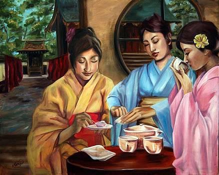 Tea Ceremony by Maryn Crawford