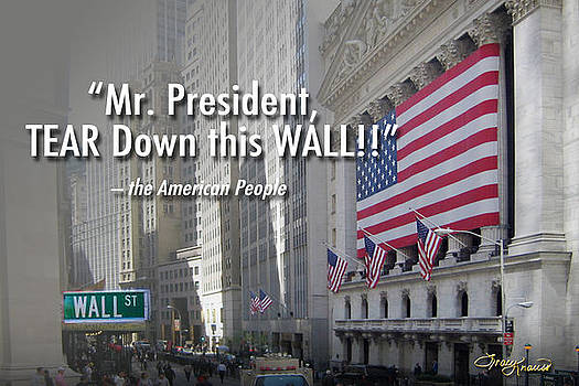 Tear Down This Wall by Tracy Knauss