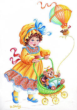 Teddy Bears and Me in the Children's Parade by Dee Davis