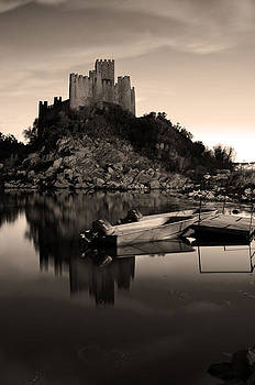 The Almourol Castle by Dias Dos Reis