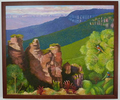 The Blue Mountains by Lila Strong