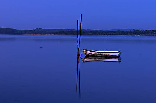 The Boat in Blue by Dias Dos Reis