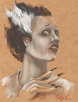 The Bride  by Tracy E Flynn