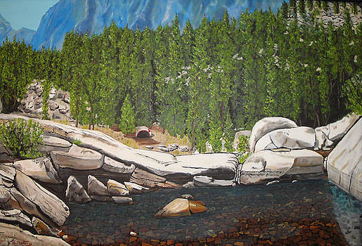 The Campsite by Stephen Ponting
