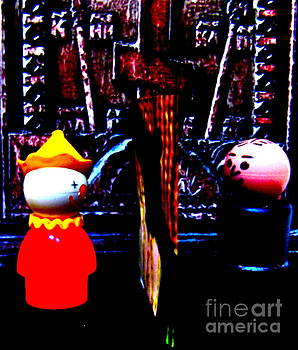 The Confessional by Ricky Sencion
