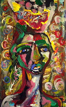The Fruit Picker by Dareen  Hasan