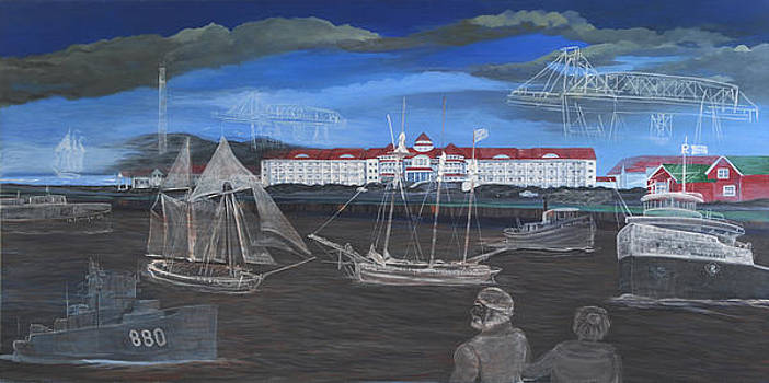 The Ghost Ships of Blue Harbor by Laura Spalinger