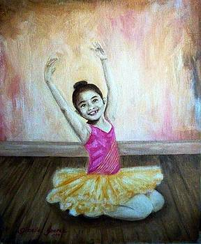 The Happy Ballerina by Gizelle Perez