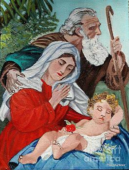 The Holy Family by Pilar  Martinez-Byrne