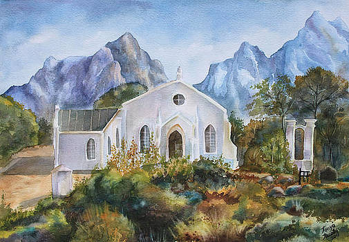 The mission church of Pniel by Tanya Jacobsz