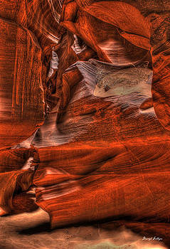 The Place Where Water Runs Through Rocks by Darryl Gallegos