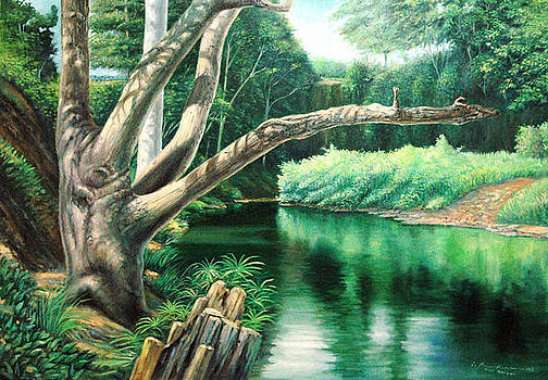 The River by Makam  art