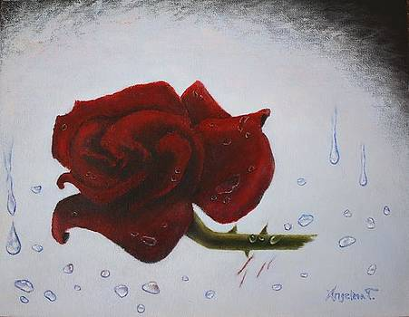 The Scarring Rose by Angelina G T