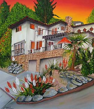 Theresa's Spanish House by Portland Art Creations