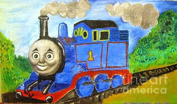 Thomas train by Ayman Youssif