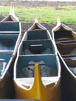 Three Canoes by Ron Holiday Broomell