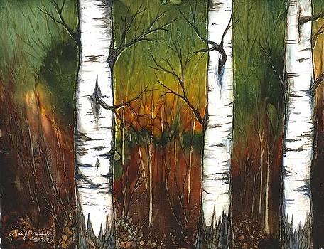 Three Quakies by Lisa  Marsing