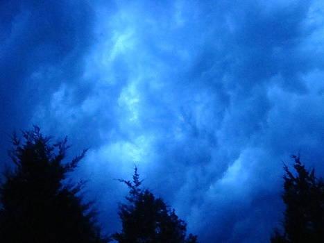 Thunderclouds at Dusk by Tonia Darling
