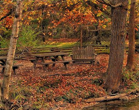 Time For A Fall Picnic by Victoria Sheldon