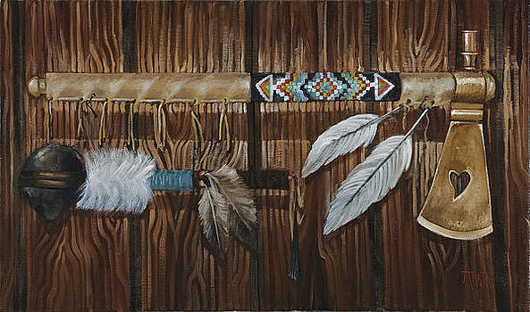 Tomahawks by Geraldine Arata