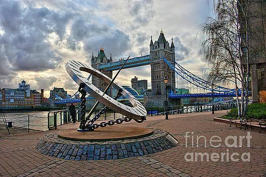 Tower Bridge London by Donald Davis