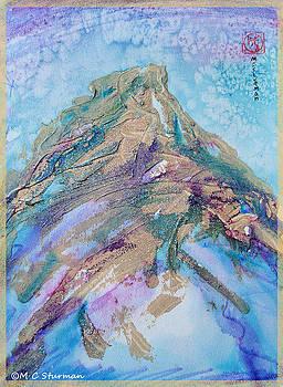 Tranquil mountain by M C Sturman