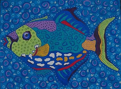 Trigger Fish by Debbie Talman