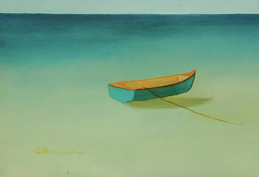 Tropical Calm by Diane Cutter