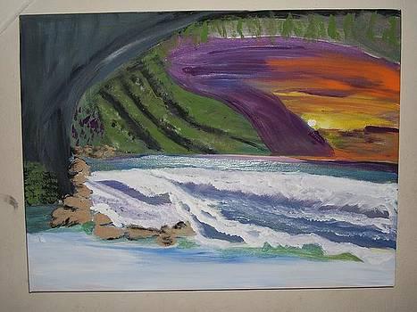 Tropical Cave by Lisa Stunda