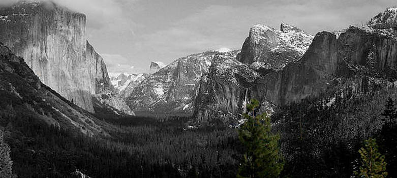 Tunnel View Selective Color by Travis Day