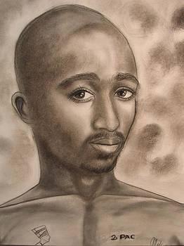 Tupac Amaru Shakur by Maily
