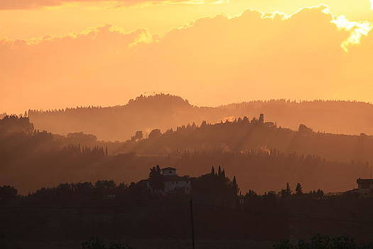 Tuscany Sunset by Francesco Scali