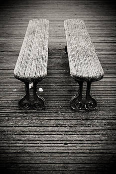 Twin Benches by Edward Myers