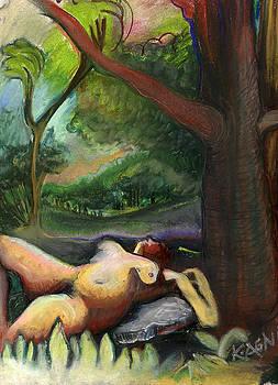 Under A Tree by Karen Kratzer