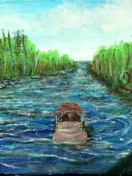 Upstream by Richard  Hubal