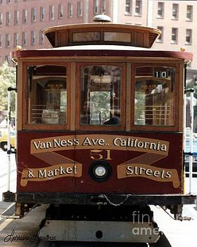 Van Ness Ave. San Francisco by Lorraine Louwerse