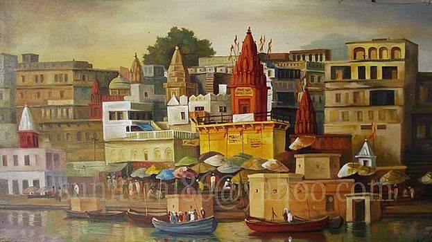 Varanasi by Sunita Rai