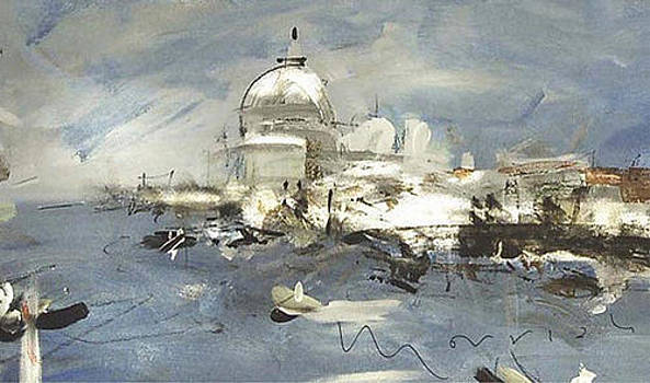 Venice in Winter by Adrian Morrish