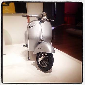 Vespa Gs Iconic Design Moma Nyc by Michael Benevides