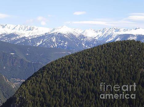 View over La Massana Mountain by Paul Jessop