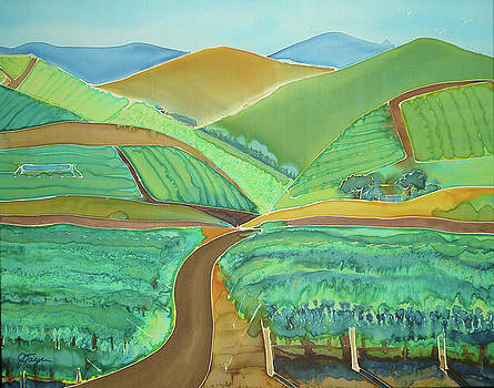 Vigor in the Vineyards by Jill Targer