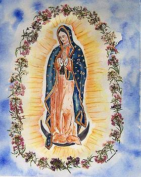 Virgin of Guadalupe by Regina Ammerman