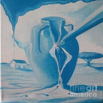 Visions de Um Azul - A Bilha com Vag...  by Carlos Godinho