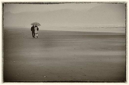 Walk on the beach by Steve Blair